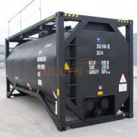 Bitumen tank container