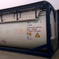 Gas tank container