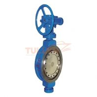 Worm Gear Hard Seal Butterfly Valve